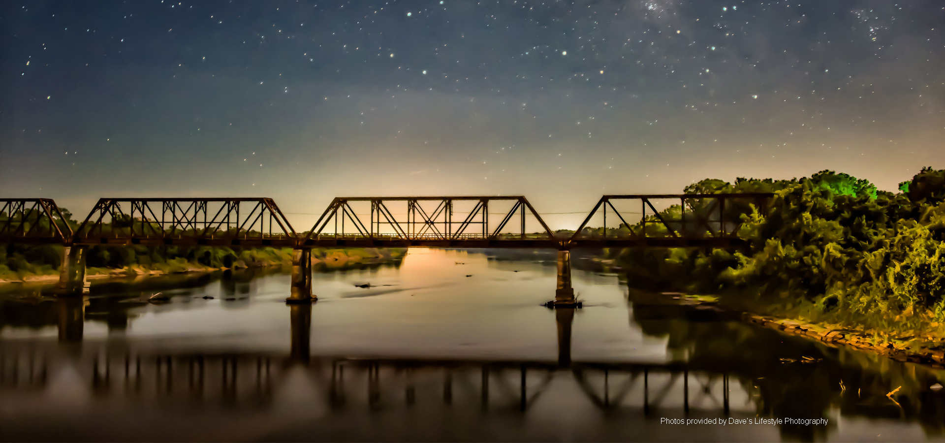 Carpenters Bluff Bridge Image by Dave's Lifestyle Photography